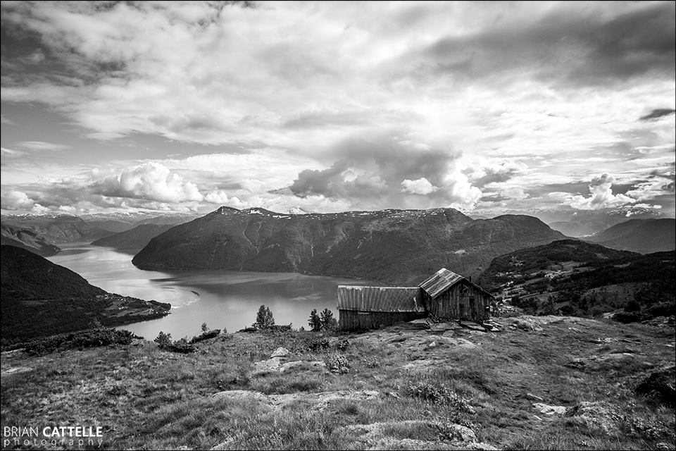 Brian Cattelle Fine Art Black and White Photography Fjord Study 03