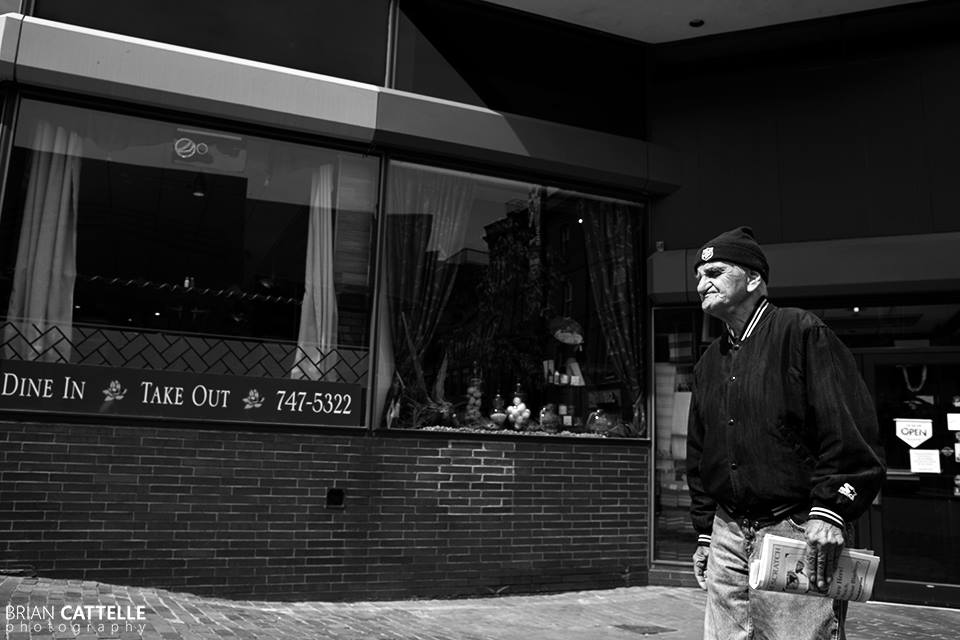 Brian Cattelle Fine Art Black and White Photography Portland Street Study 02