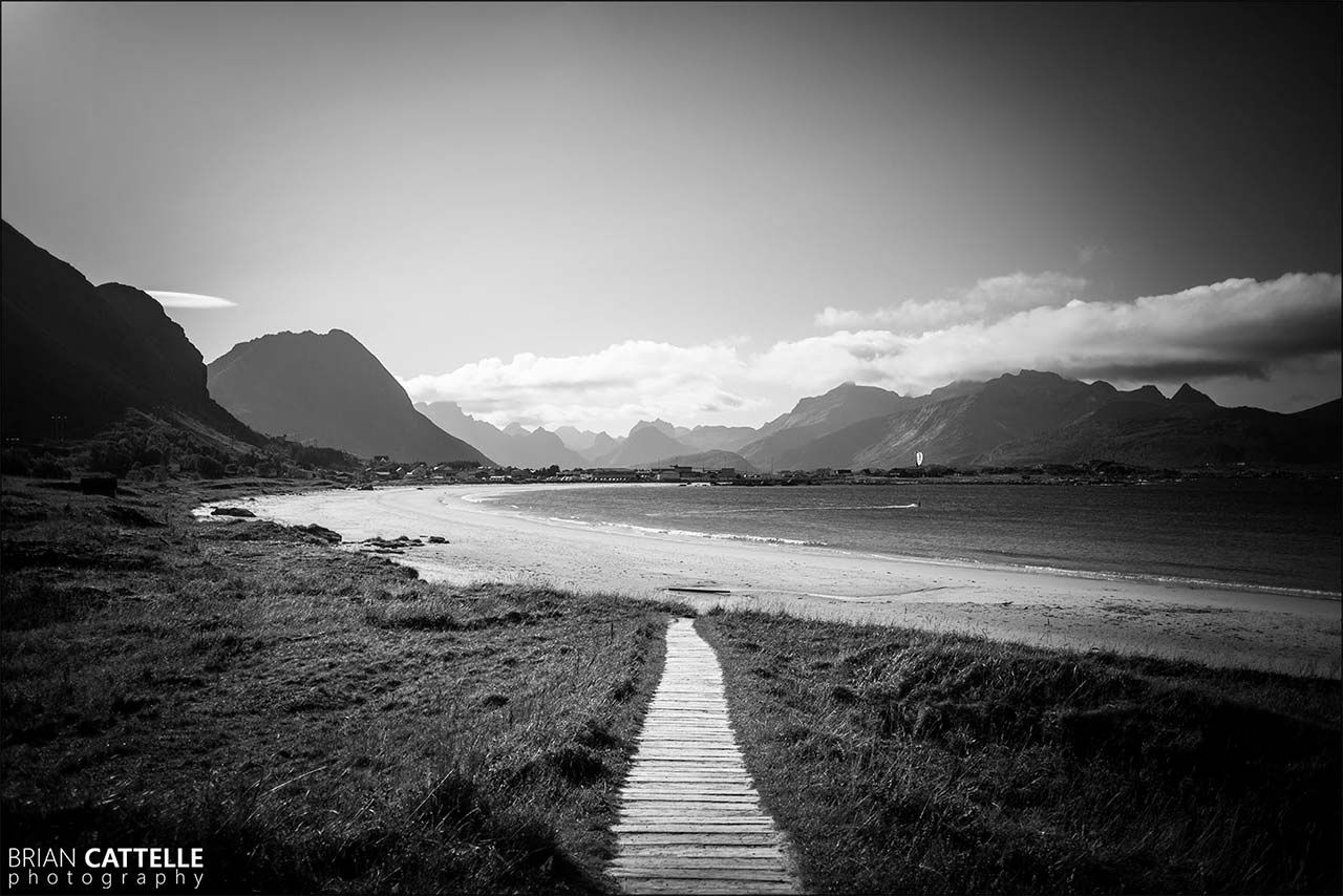 Brian Cattelle Fine Art Black and White Photography Ramberg Stranda Study 03
